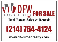 Dallas New Townhomes For Sale