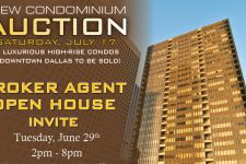 Downtown Dallas New Condo Auction Featuring The Metropolitan at 1200 Main