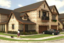 Hemingway Court in Irving Offers Luxury Billingsley Townhomes and Darling New Homes