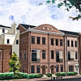 New Three Story Downtown Dallas Townhomes with Rooftop Balconies at 2127 Canton in Farmers Market District