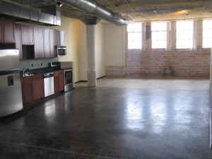 Downtown Dallas Industrial Loft
