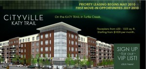 Cityville Katy Trail Apartments Dallas