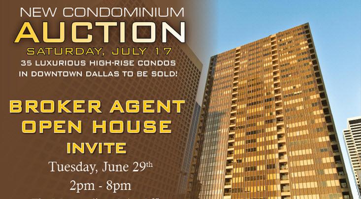 Dallas High Rise Condo Auction Sale Downtown Dallas Highrise Condos For Sal