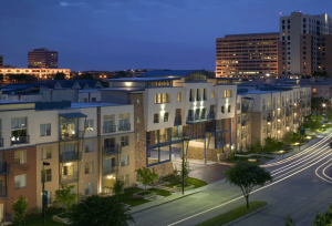 Canal Side Lofts in Las Colinas